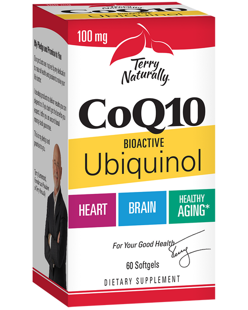 Terry Naturally CoQ10 Bioactive Ubiquinol 100mg 60 Softgels