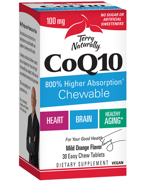 Terry Naturally CoQ10 30 Easy Chewables