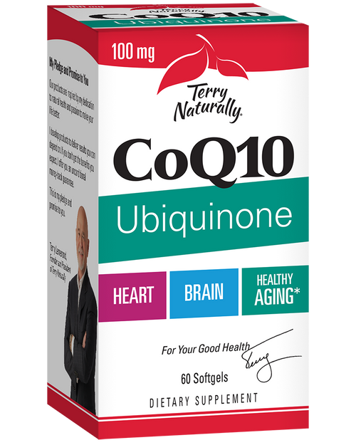 Terry Naturally Coq10 Ubiquinone 100mg 60 Softgels