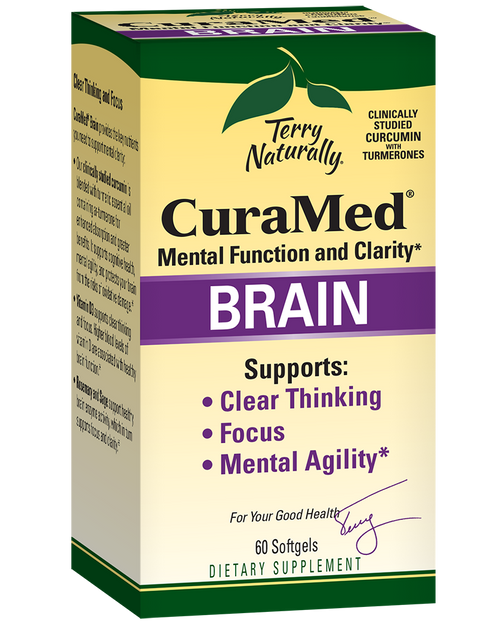 Terry Naturally CuraMed® Brain 60 Softgels