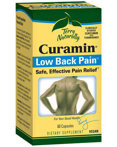 Terry Naturally Curamin Low Back Pain 60 Capsules