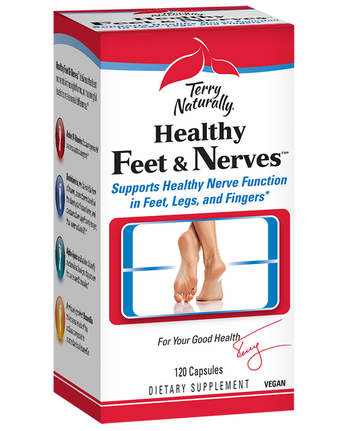 Terry Naturally Healthy Feet Nerves 60 Capsules