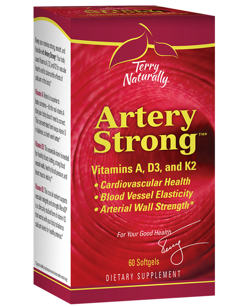Terry Naturally Artery Strong 60 Softgels