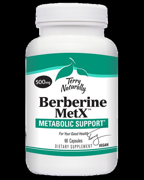 Terry Naturally Berberine MetX 60 Capsules