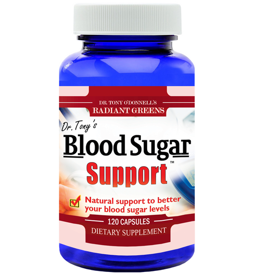 Dr Tony's Blood Sugar Support 120 Capsules