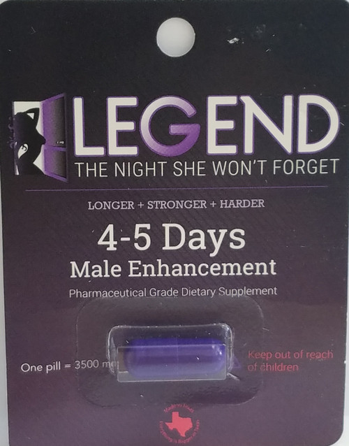 Legend Male Enhancement  Pills For Men 1 Capsule