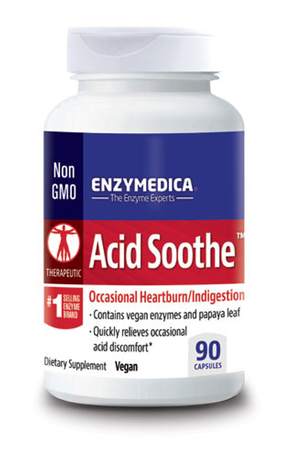Enzymedica Acid Soothe 90 Capsules