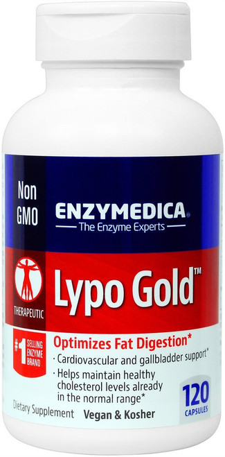 Enzymedica Lypo Gold 120 Capsules #8131