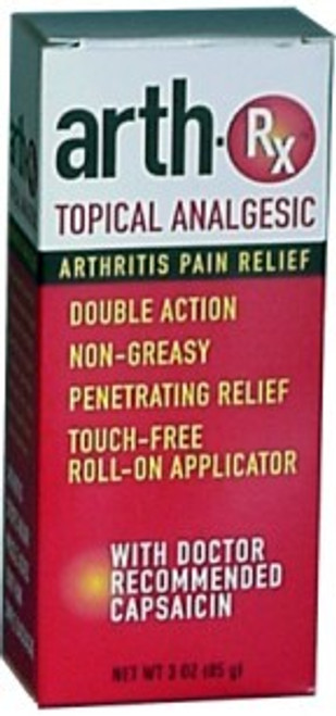 H C D Sales ARTH-Rx Topical Analgesic 3oz roll-on