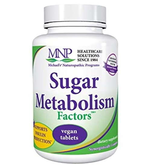 Michael's Sugar Glucose Metabolism 180 Factors Tablets