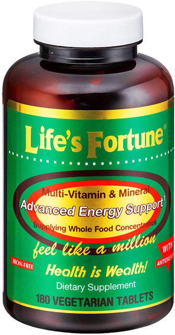 Life's Fortune Vitamins 180 Tablets #102 UPC 750950200042