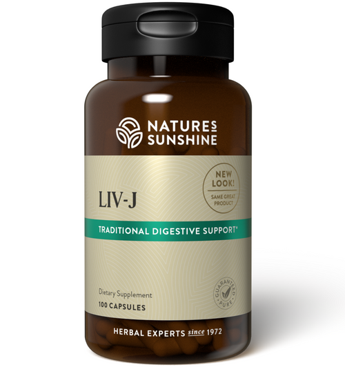 Nature's Sunshine LIV-J Build & Cleanse The Liver 100 Capsules #1011