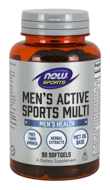 Now Foods Men's Extreme Sports Multi 90 Sgels #3890