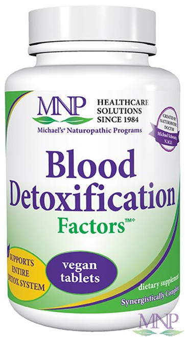 Michael's Factors Blood Detoxification Factors 90 Tablets #0164