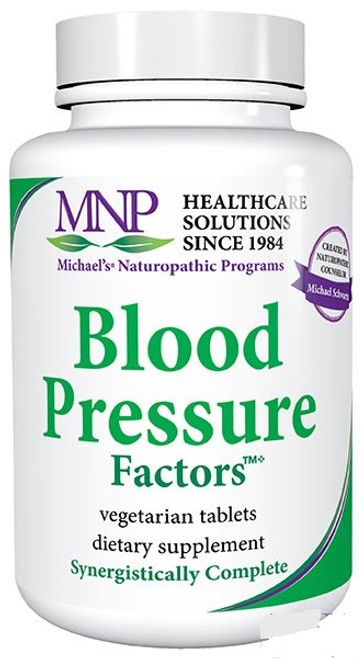 Michael's Blood Pressure Factors 90 Or 180 Vegetarian Tablets