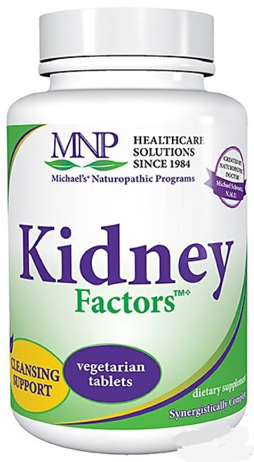 Michael's Naturopathic Kidney Factors 60 or 120 Tablets