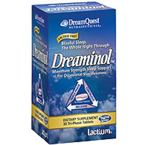 Nature's Plus Dreaminol Tri-Phase 30 Tablets #10041