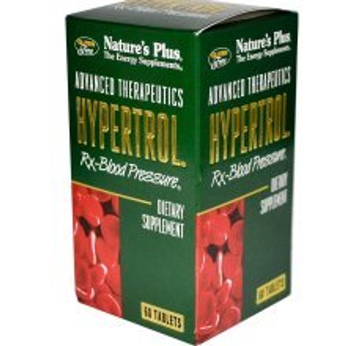 Nature's Plus Hypertrol Rx-Blood Pressure 60 Tablets #4997