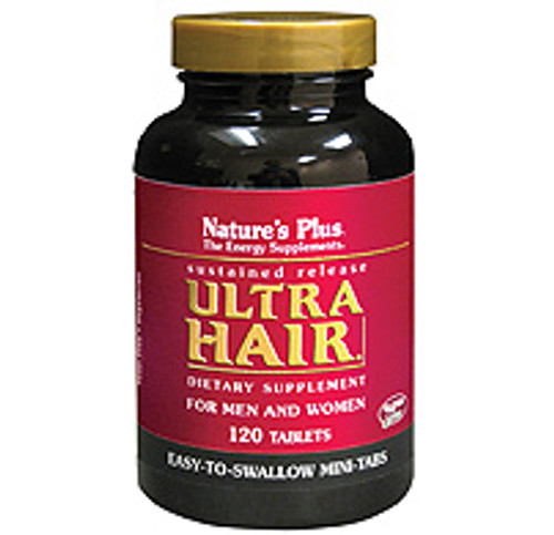 Nature's Plus Ultra Hair Sustained Release 120 Mini-Tablets #4843