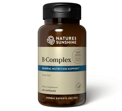 Nature's Sunshine B-Complex 100 Capsules