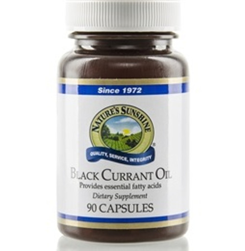 Nature's Sunshine Black Currant Oil 90 Capsules #1810-9