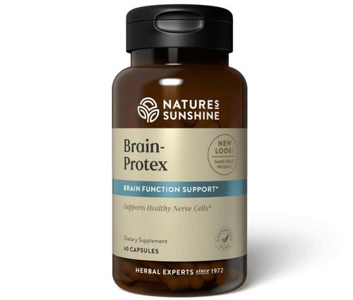 Nature's Sunshine Brain-Protex with Huperzine 60 Capsules #3114-1