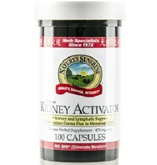 Nature's Sunshine Chinese Kidney Activator 100 Capsules