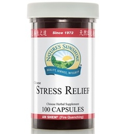 Nature's Sunshine Chinese Stress Relief 100 Capsules