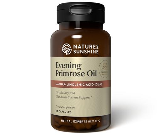 Nature's Sunshine Evening Primrose Oil 90 Capsules #1787