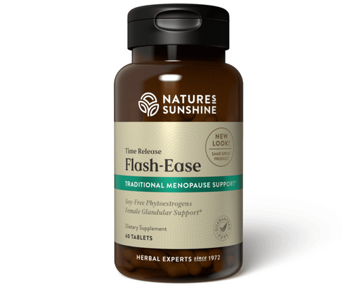 Nature's Sunshine Flash Ease Time Release 60 Tablets #81