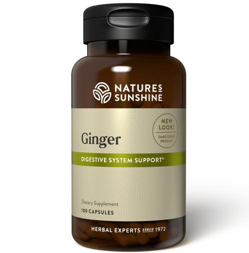 Nature's Sunshine Ginger 100 Capsules