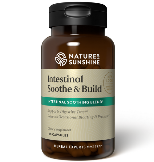 Nature's Sunshine Intestinal Soothe & Build 100 Capsules #1106
