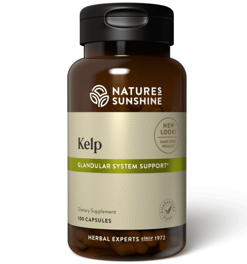 Nature's Sunshine Kelp 100 Capsules #410