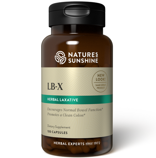 Nature's Sunshine LB-X 100 Capsules #1226