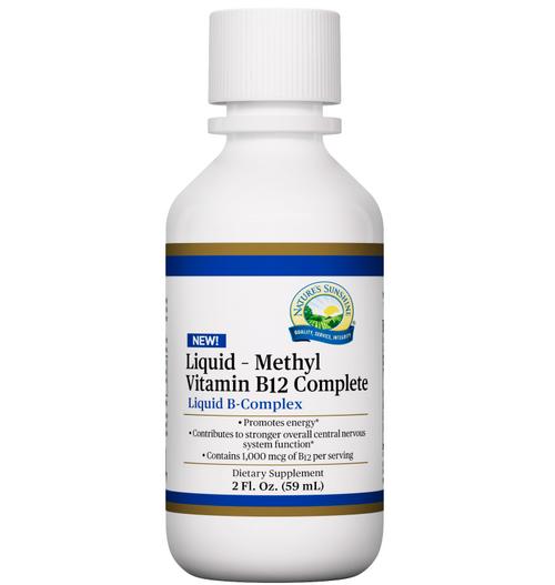 Nature's Sunshine Liquid - Methyl Vitamin B-12 Complete  2 fl oz #21690