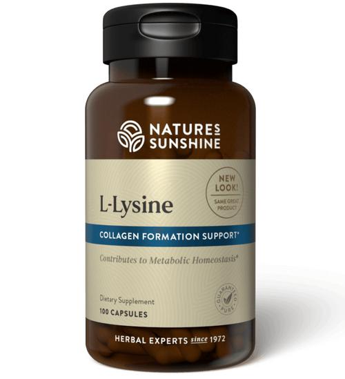 Nature's Sunshine L Lysine 100 Capsules #1631
