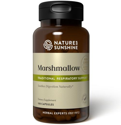 Nature's Sunshine Marshmallow 100 Capsules #440