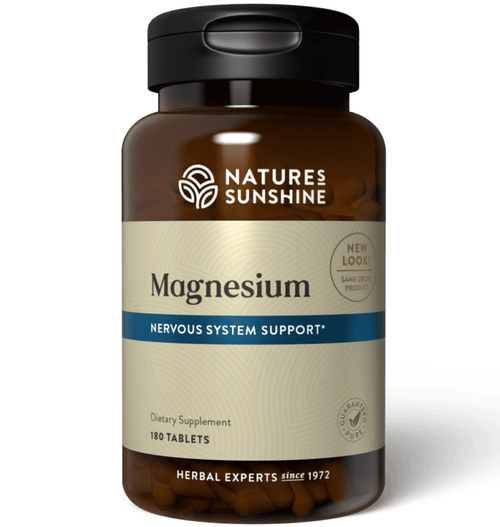 Nature's Sunshine Magnesium 250 mg 180 Tablets #1786