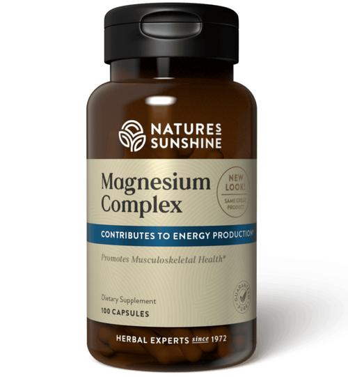 Nature's Sunshine Magnesium Complex 100 Capsules #1859