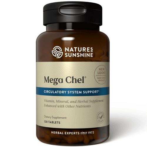 Nature's Sunshine Mega-Chel 120 Tablets #4201