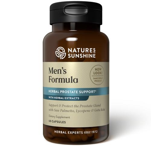 Nature's Sunshine Men's Formula w/Lycopene 60 Capsules #3112