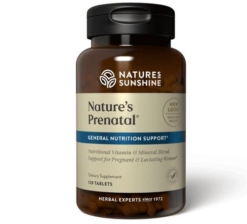 Nature's Sunshine Nature's Prenatal 120 Tablets #3242