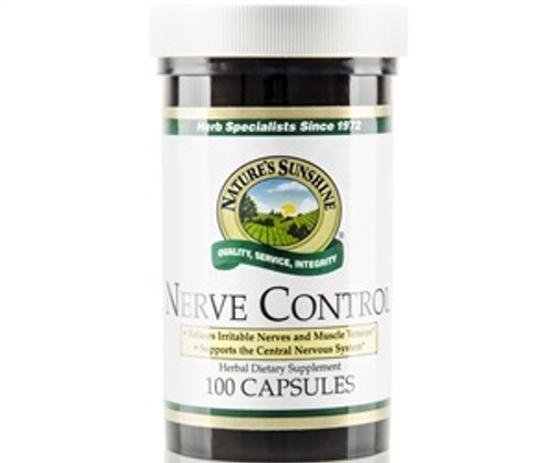 Nature's Sunshine Nerve Control RE-X 100 Capsules #1242-4