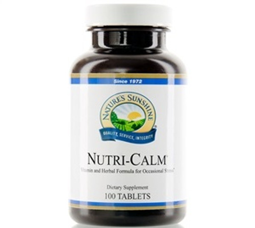 Nature's Sunshine Nutri-Calm 100 Tablets #1617-3