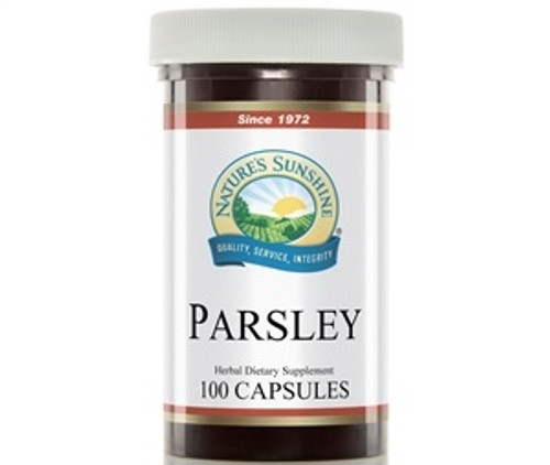 Nature's Sunshine Parsley 100 Capsules #490-9