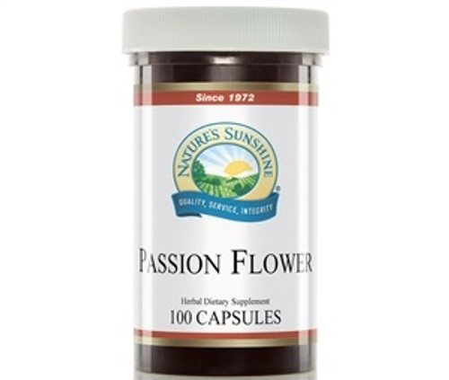 Nature's Sunshine Passion Flower 100 Capsules #500-3