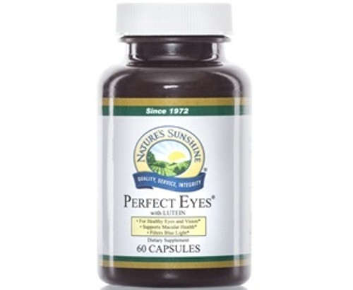 Nature's Sunshine Perfect Eyes Eyebright Plus 60 Capsules #4075-0