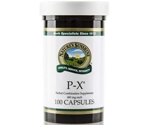 Nature's Sunshine P-X 100 Capsules #1234-5