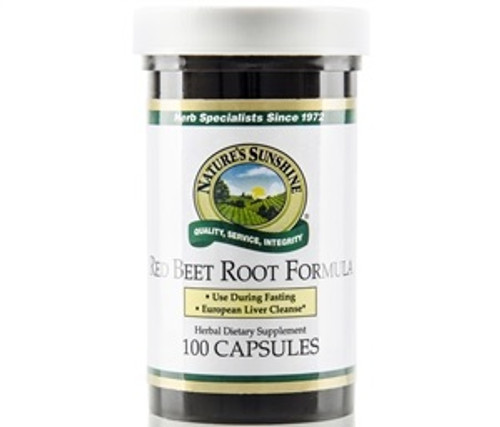 Nature's Sunshine Red Beet Root Formula 100 Capsules #870-0