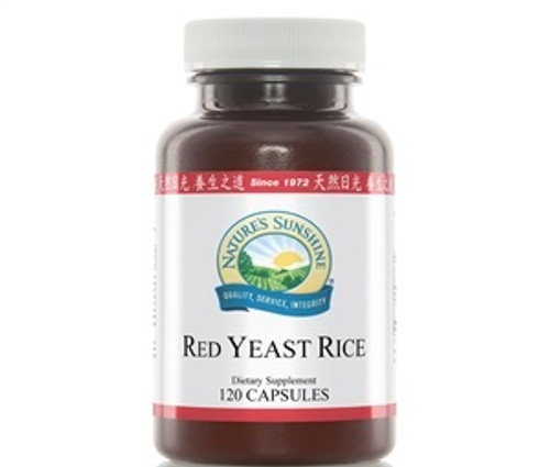 Nature's Sunshine Red Yeast Rice 120 Capsules #558-3